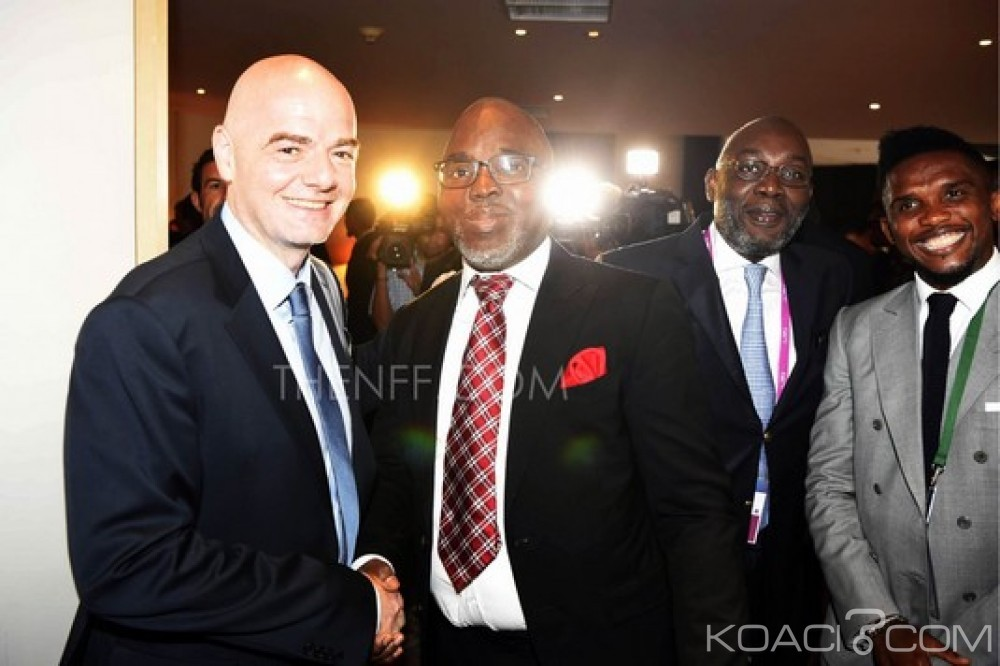Nigeria: Visite planifiée du président de la FIFA, sanction contre Chris Giwa