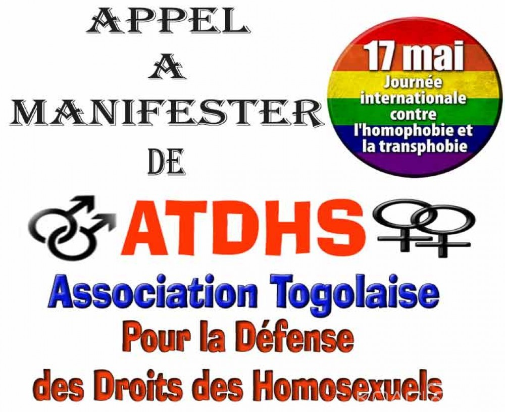 Koacinaute: Appel à manifester pour le respect des Droits des Homosexuels au Togo