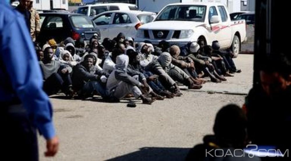 Libye:  850 clandestins dont des enfants  empêchés de rejoindre l' Europe
