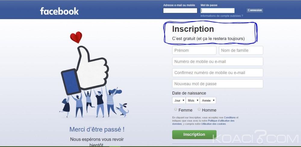 Monde: Facebook ne deviendra  pas payant, arrêtez de partager ce message, c'est une arnaque !