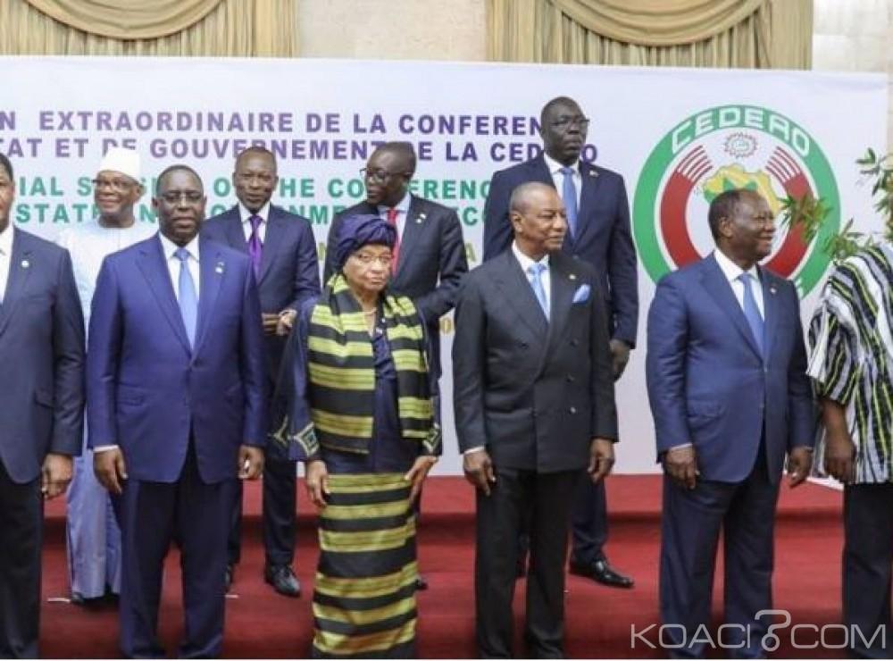 Cedeao: Ellen Johnson Sirleaf désignée Présidente en exercice