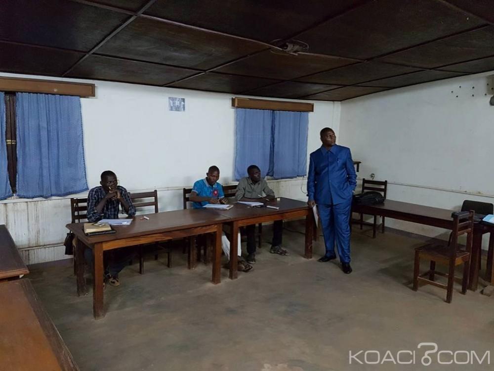 Centrafrique: Touadéra, le président continue de dispenser des cours de mathématiques