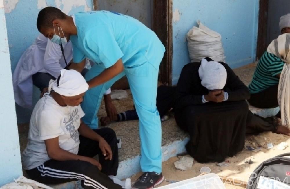 Libye: 117 migrants clandestins dont six  femmes enceintes stoppés au large