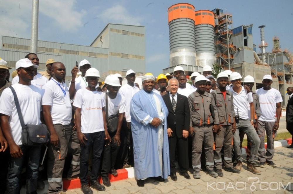 Gabon: Inauguration de l'usine de production de ciments CIMAF Gabon et focus sur les relations avec le Maroc