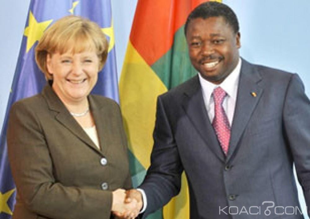 Togo: Faure Gnassingbé rencontre Angela Merkel à Berlin