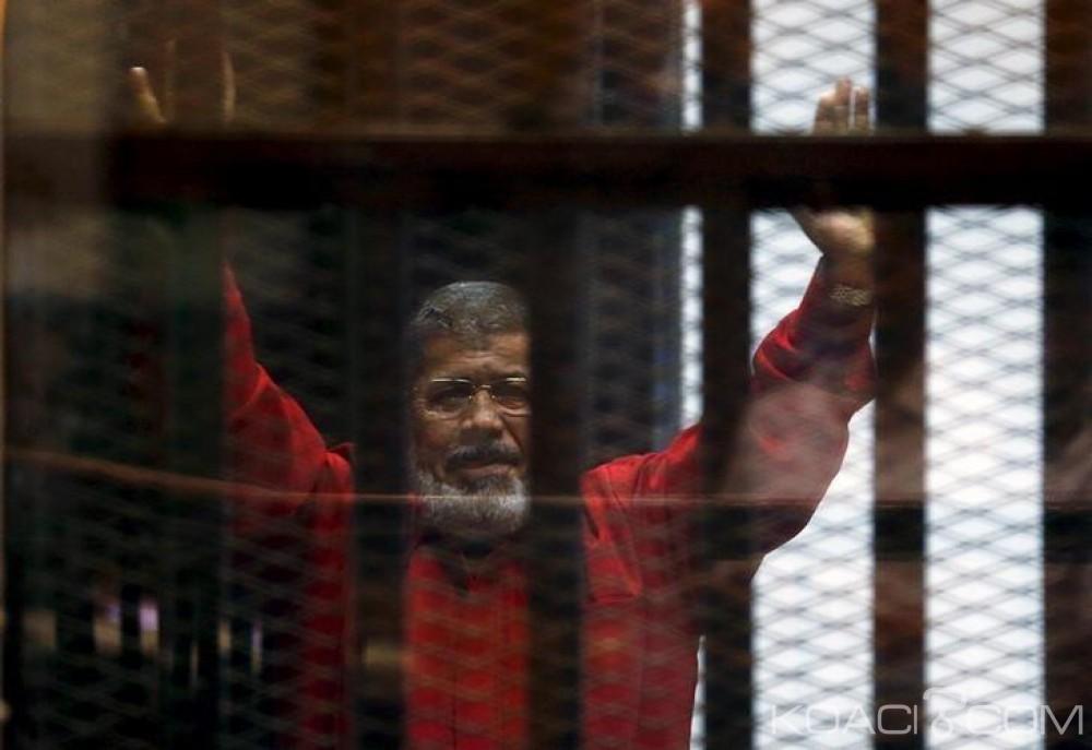 Egypte: Mohamed Morsi   condamné à vie pour la 4ème fois