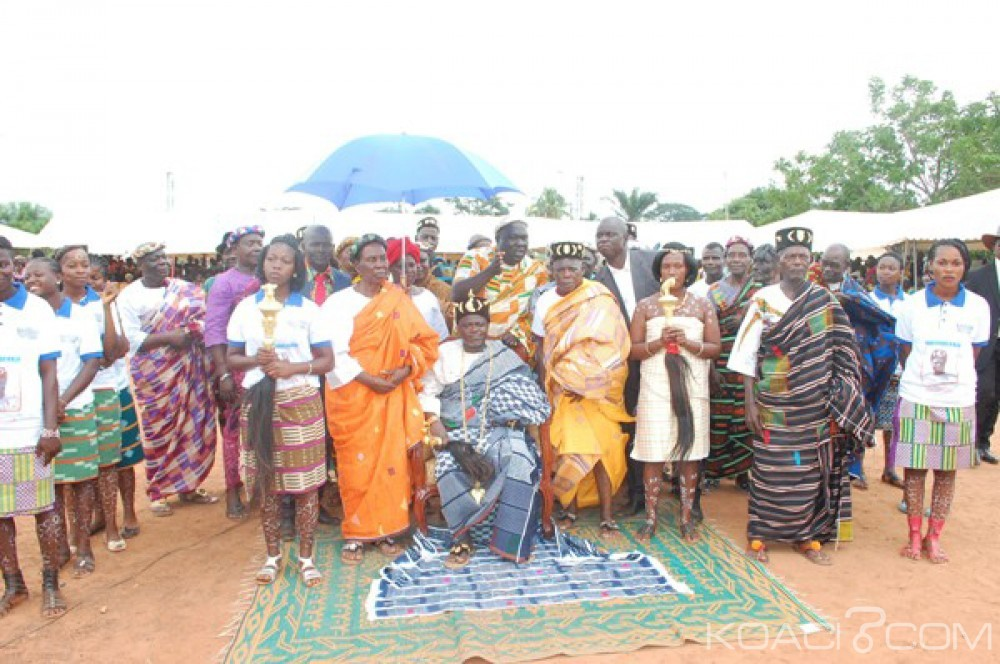 Côte d'Ivoire: Yamoussoukro, le chef Canton reconnu par le royaume de Sakassou intronise le 10ème chef de Djamalabo
