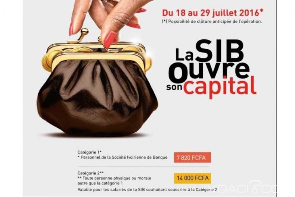 Côte d'Ivoire: La SIB ouvre son capital, 14 000 Fcfa l'action