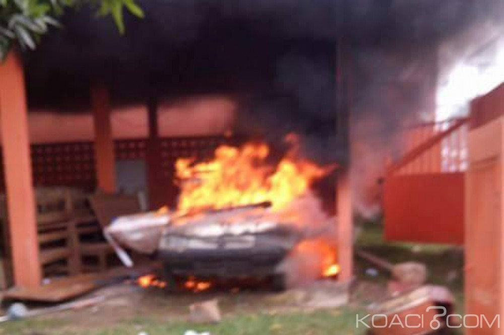 Côte d'Ivoire: Après Yamoussoukro, la CIE locale de Daloa attaquée par les abonnés, vols et véhicules  incendiés