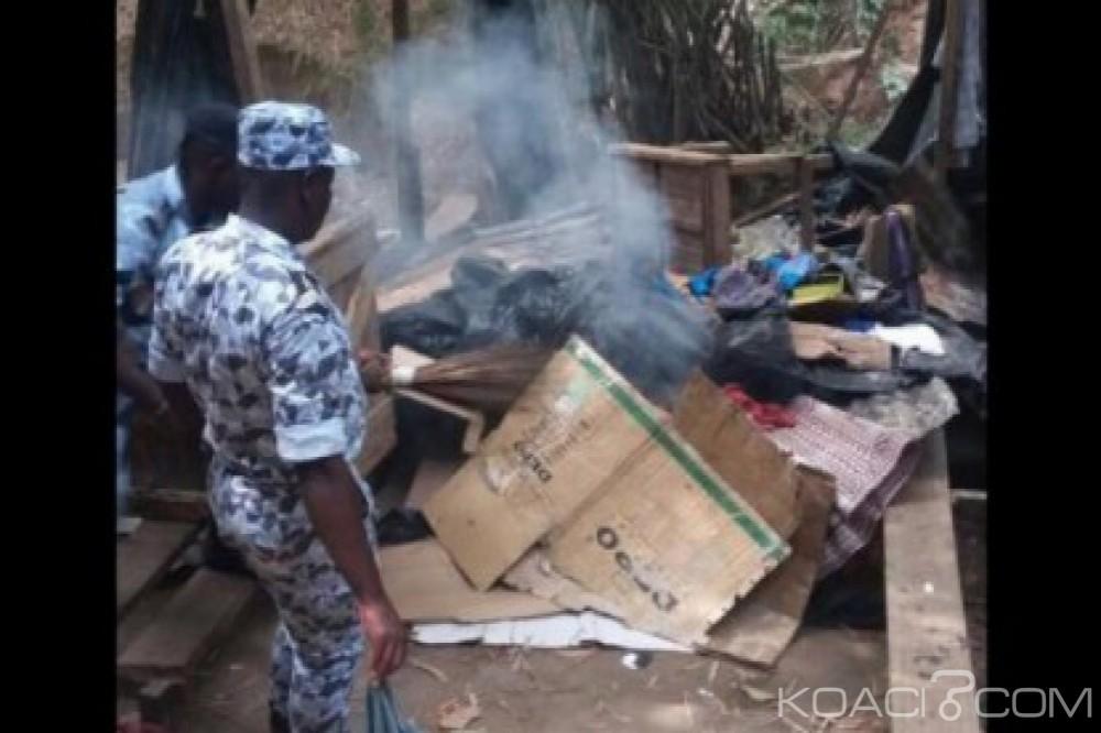Côte d'Ivoire: La police détruit les fumoirs construits dans la forêt du Banco