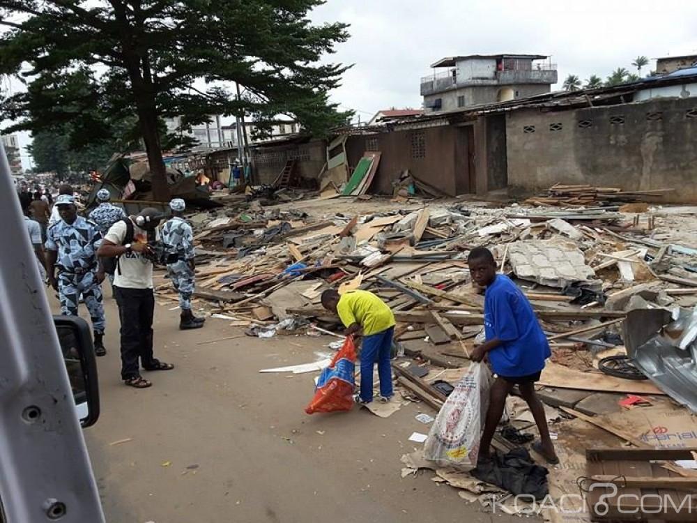 Côte d'Ivoire : «Ouloto buldozer» fait le ménage à Adjamé