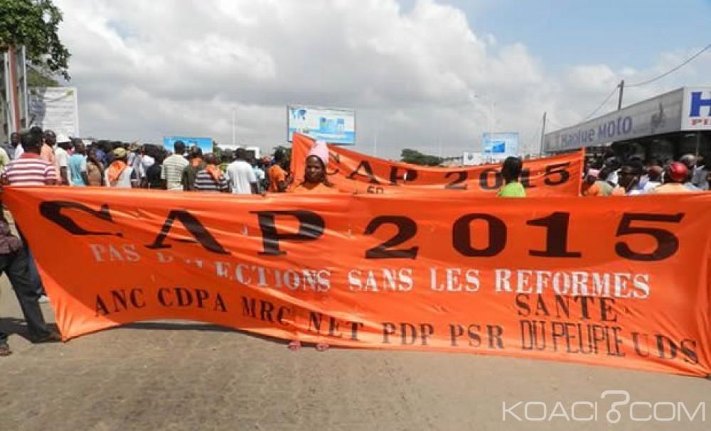 Koacinaute: Le CAP 2015 à Dapaong le samedi 06 août 2016 pour les reformes au Togo