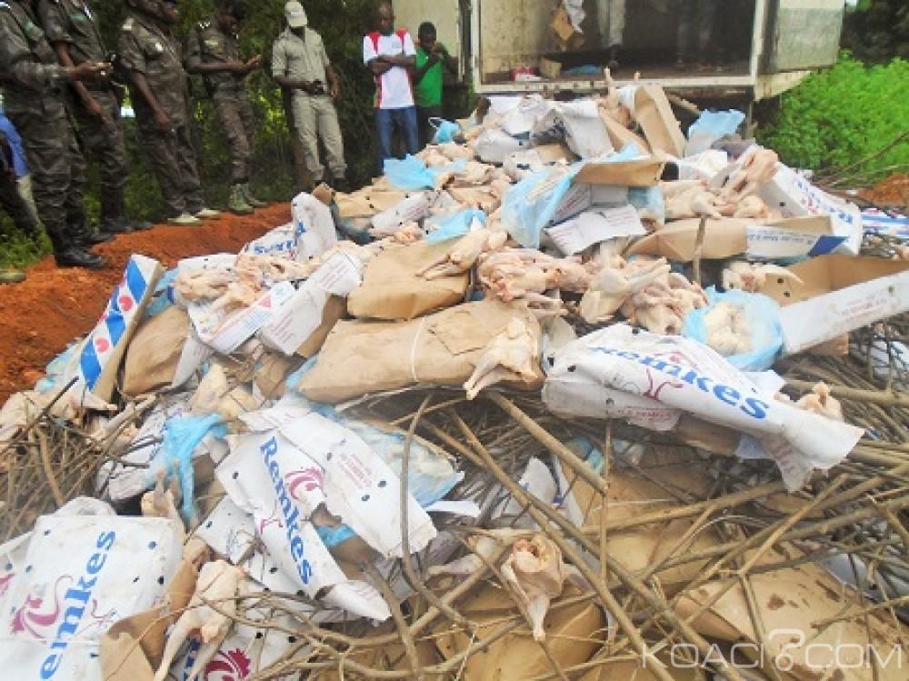 Burkina Faso: Plus de 11 tonnes de poulets impropres à la consommation saisies à Tenkodogo