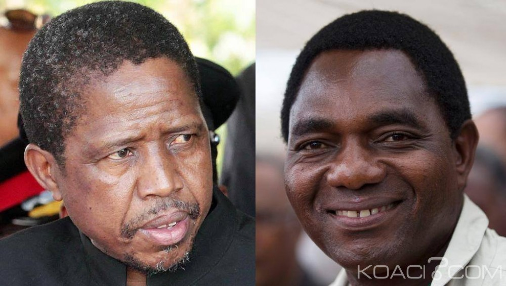 Zambie:  Elections Présidentielle, Duel serré  pour la succession du défunt Président  Michael Sata
