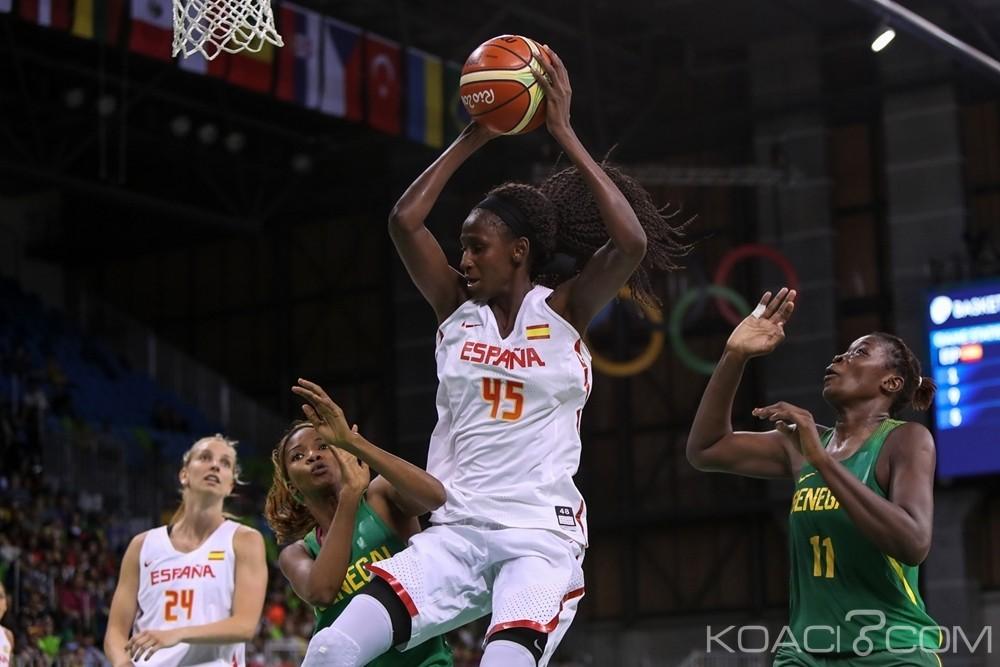 Sénégal: Tournoi de Basket JO, les lionnes battues par l'Espagne amené par la sénégalaise Astou Ndour