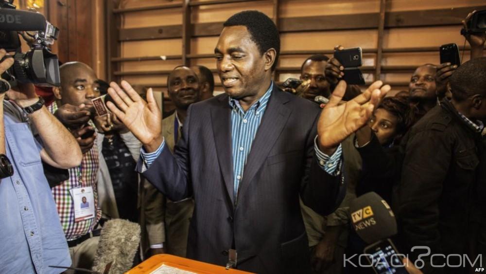 Zambie: Élections Présidentielles, le sortant Edgar Lungu en tête, l'opposition crie déjà à la fraude