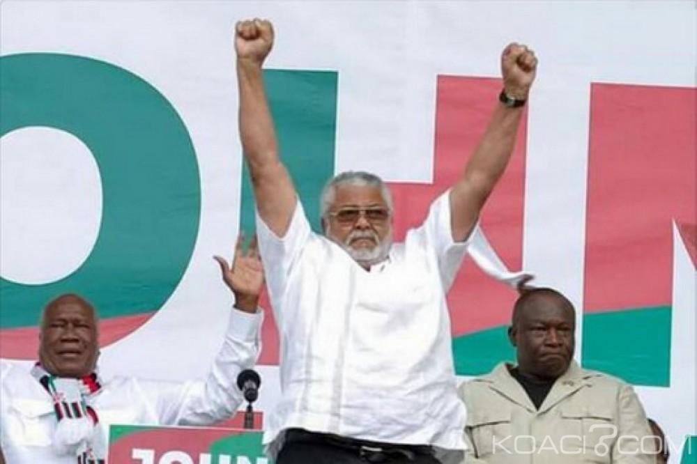 Ghana: Stratégies préélectorales de Rawlings pour le NDC envers le NPP