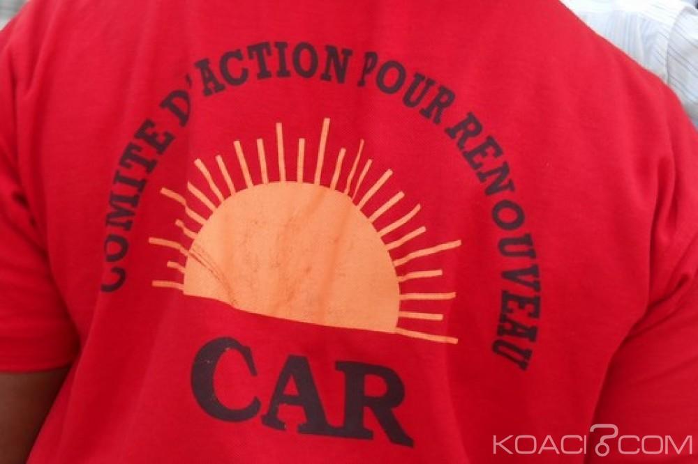 Togo: Crise au CAR, appel à formation d'un nouveau parti