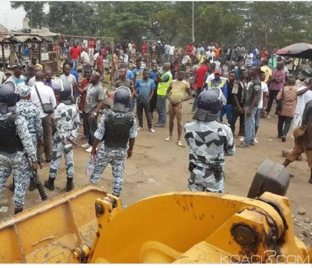 Côte d'Ivoire: Déguerpissement, autour de la «Casse», du  Boulevard Nangui Abrogoua et l'avenue Jacob Williams d'Adjamé