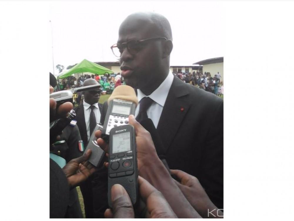 Côte d'Ivoire: Toroguhé, Alain Richard Donwahi invite les gendarmes à chasser en eux l'esprit de tentation de racket et de corruption