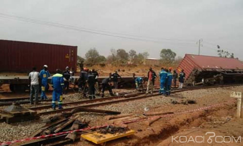 Burkina Faso: Un train marchandise en partance pour la Côte d'Ivoire déraille, pas de victimes