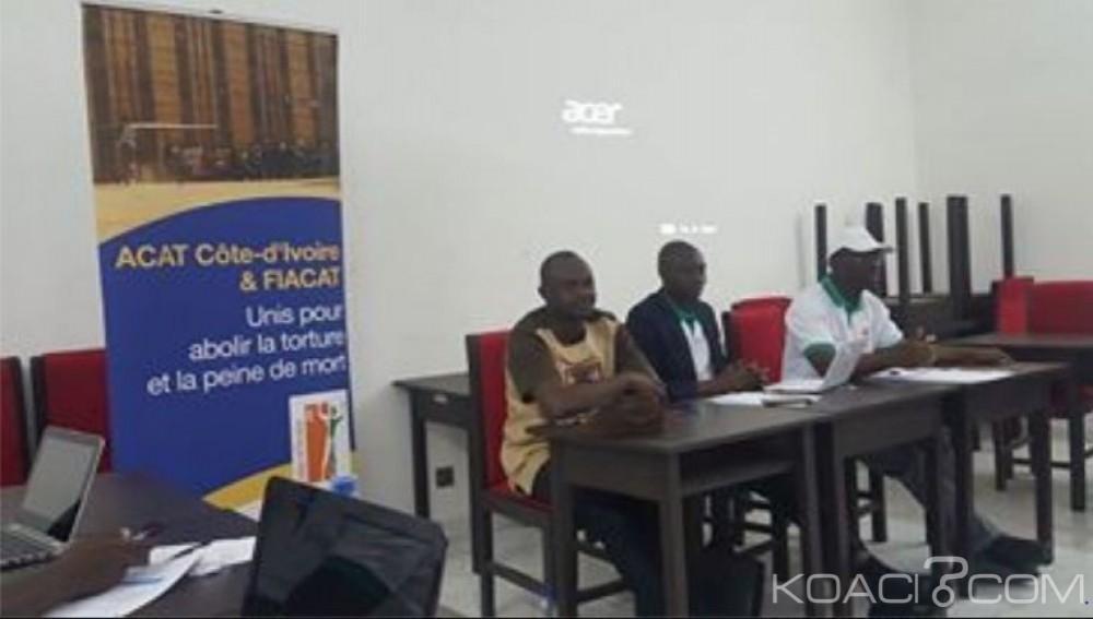 Côte d'Ivoire: Droits de l'Homme, on sensibilise  les hommes des médias sur  l'abolition «définitive» de la peine de mort