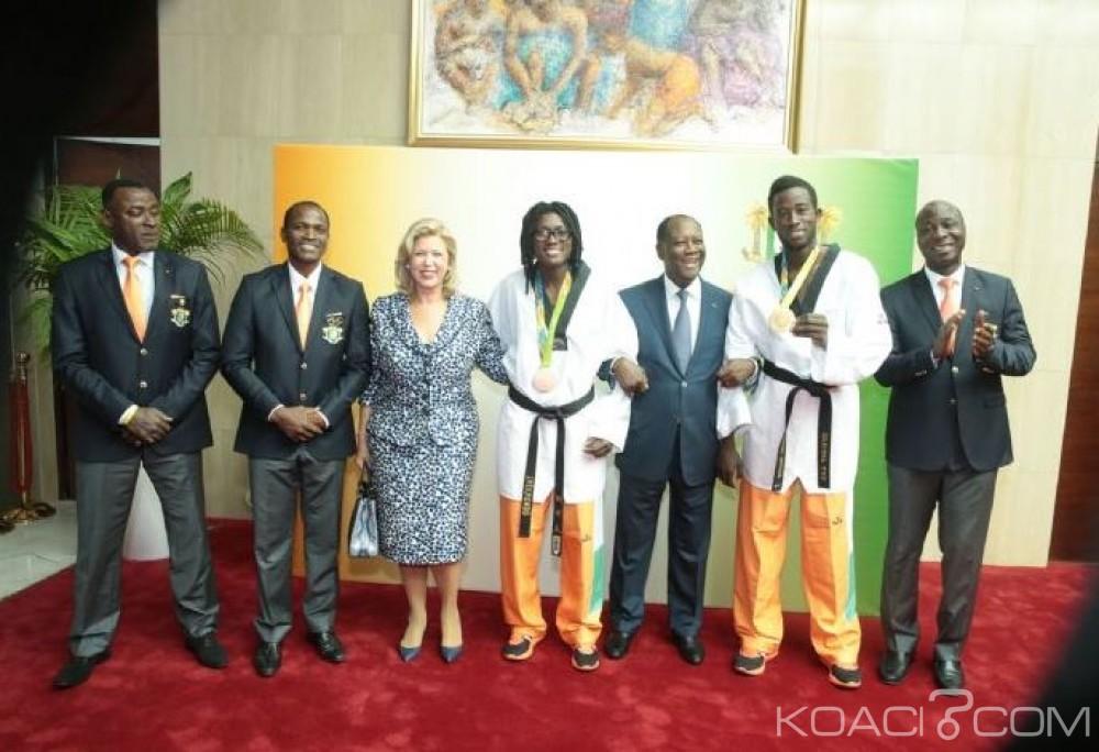 Côte d'Ivoire: JO de Rio, le Ministère des sports remet les primes d'objectif aux athlètes