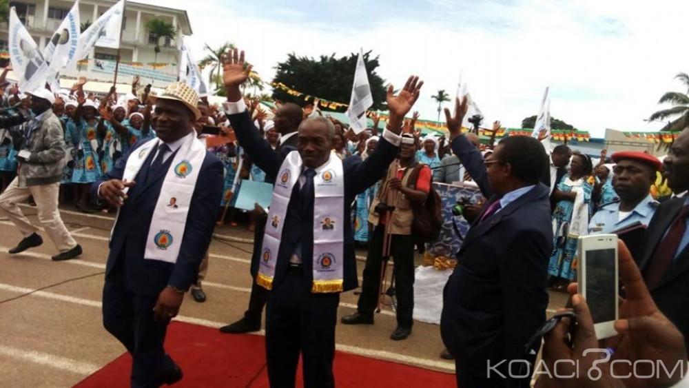 Cameroun: Scènes de déification du président Paul Biya à Kribi