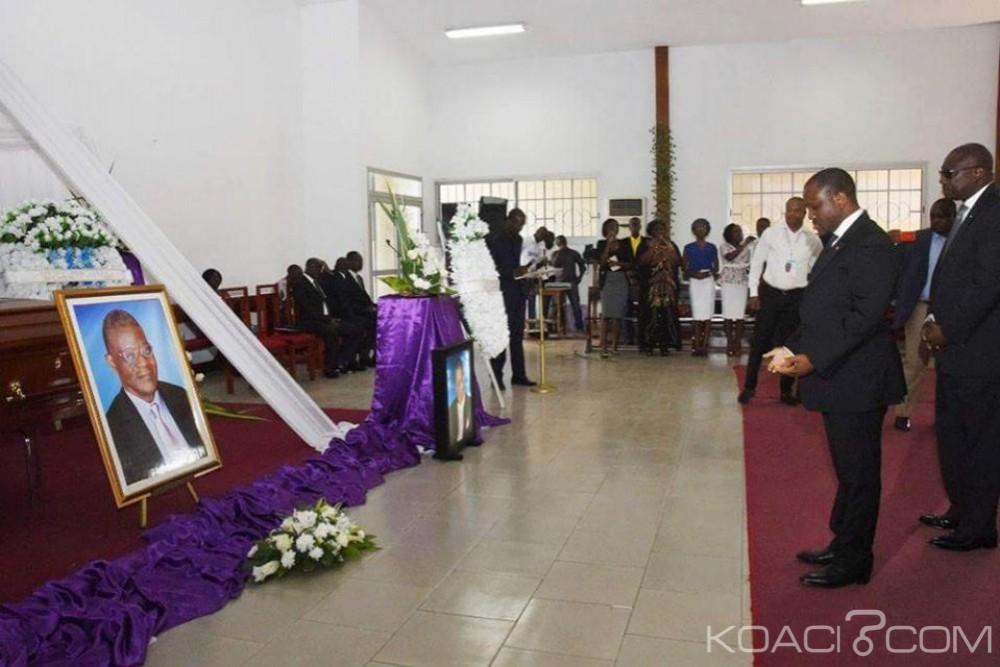 Côte d'Ivoire: Levée de corps  et Inhumation de M. Antoine Iritié Kalou