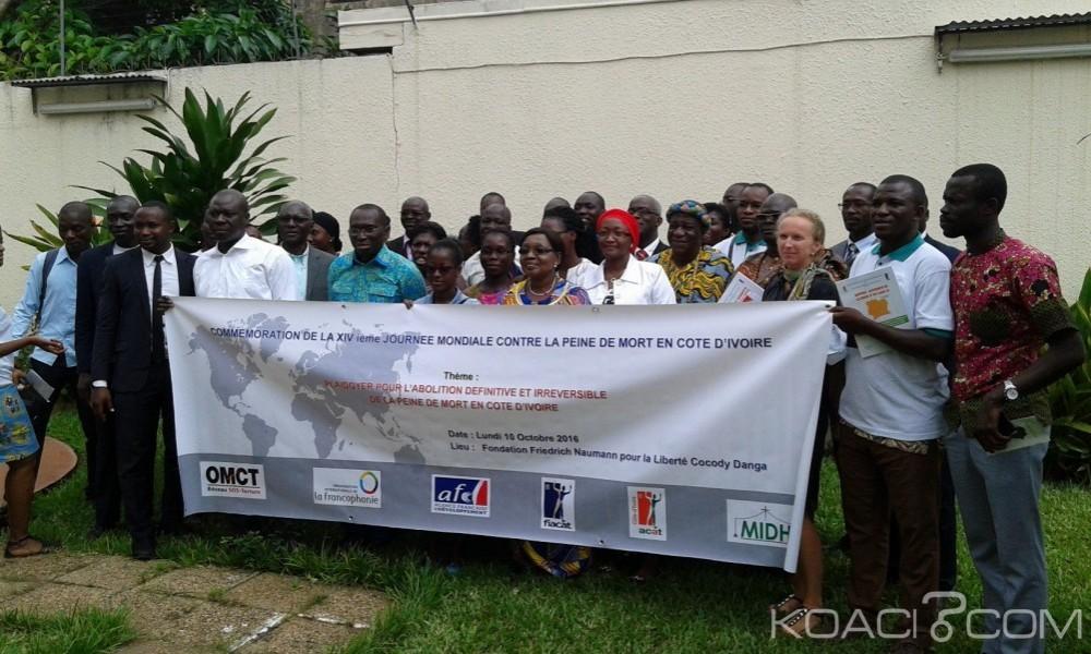 Côte d'Ivoire: 14èmes journée mondiale contre la peine de mort, l'ACAT-CI et le MIDH exhortent l'Etat à ratifier l'accord OP2