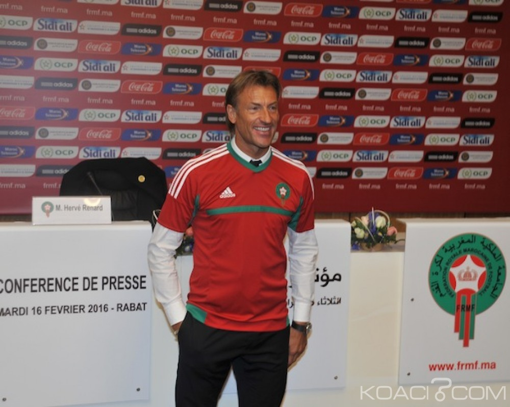 Maroc: Le sélectionneur Hervé Renard a refusé deux offres venues de la Chine et d'Algérie