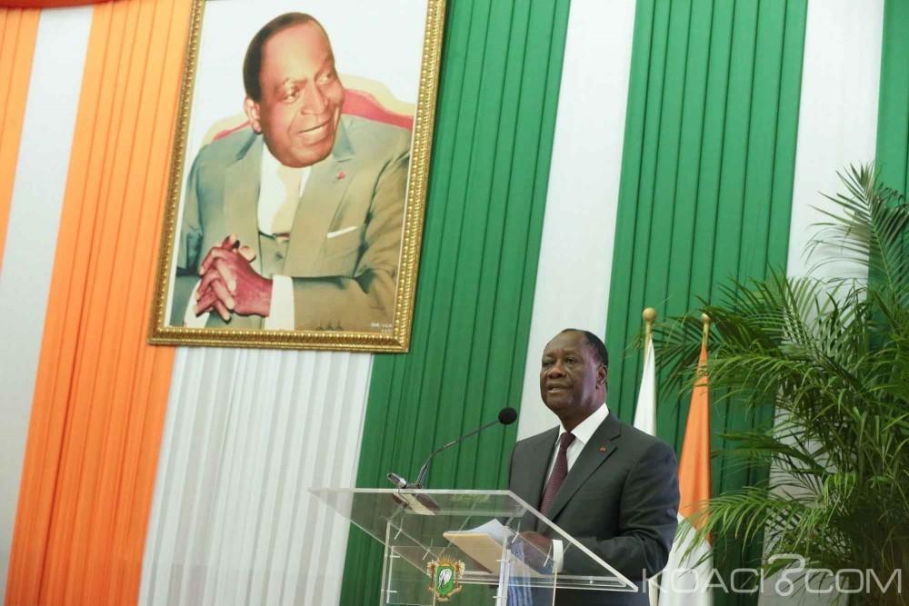 Côte d'Ivoire: 111ème anniversaire de la naissance de Félix Houphouët-Boigny, Ouattara à la dédicace des discours et messages du «vieux»