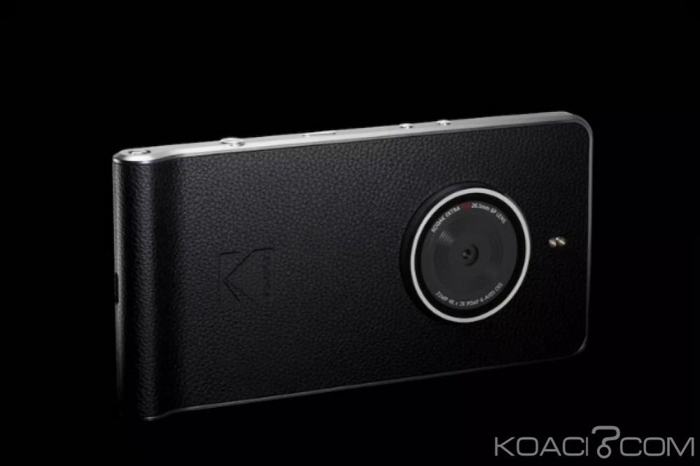 Monde: Kodak lance un smartphone appareil photo