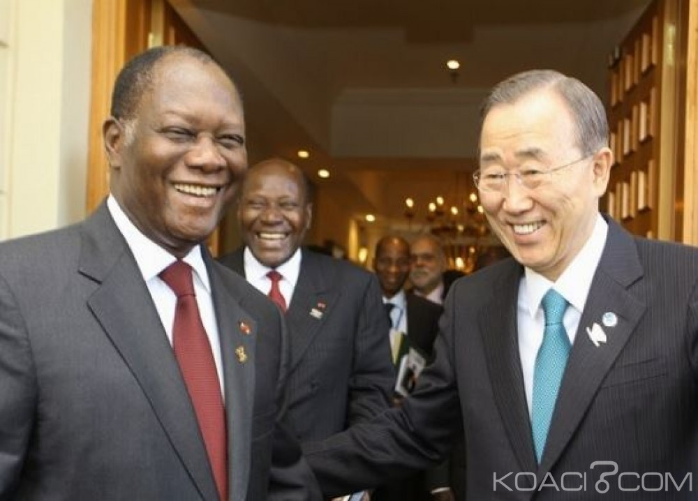 Côte d'Ivoire: Ban Ki Moon salue l'adoption de la nouvelle constitution et invite la classe politique à rejeter la violence
