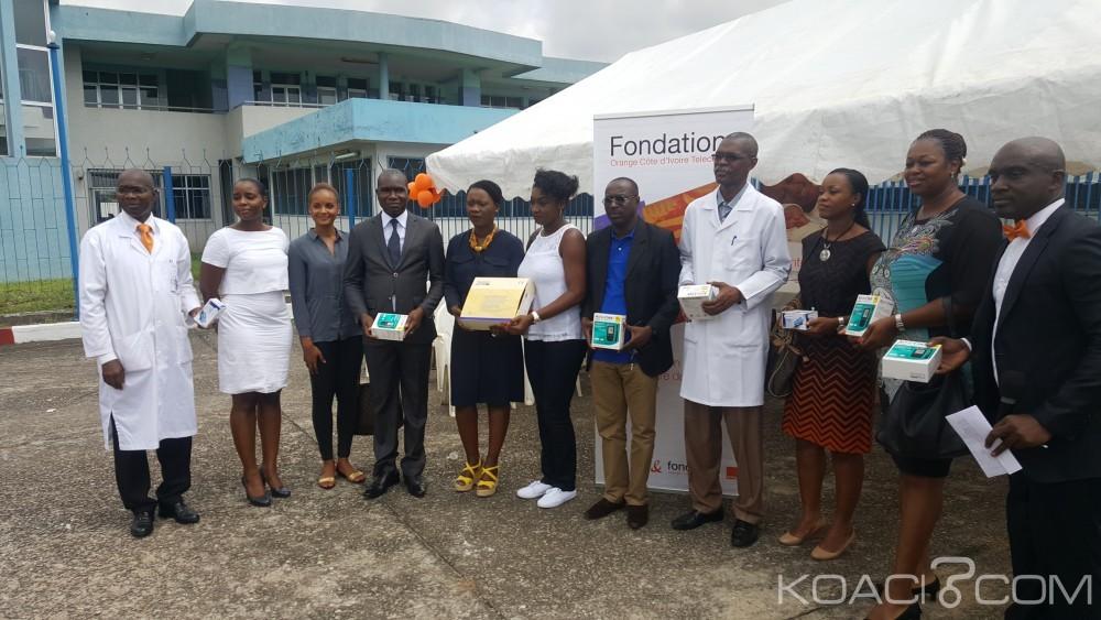 Côte d'Ivoire: La fondation Orange offre du matériel médical à la clinique du diabète du CHU de Treichville