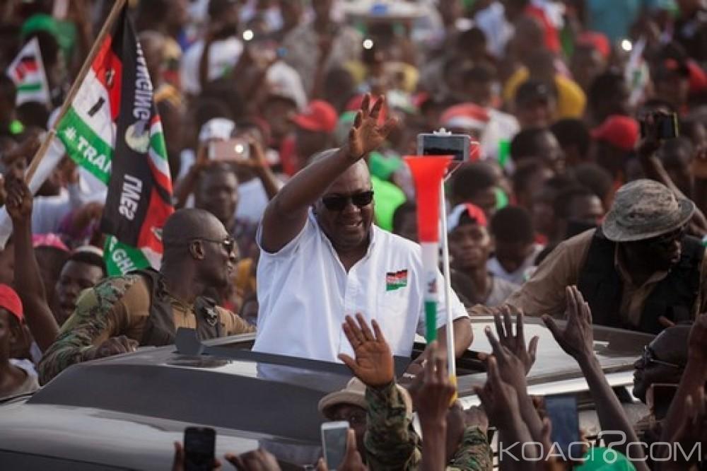 Ghana:  Précampagne, Mahama veut des doigts intacts pour le vote, condition d'accréditation