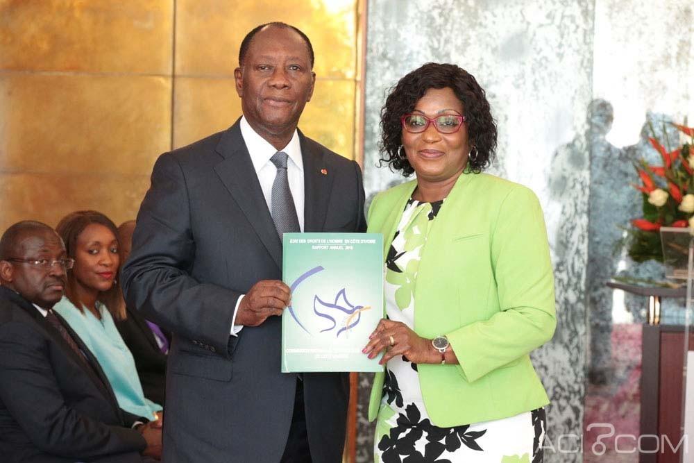 Côte d'Ivoire: La CNDHCI fait la situation des Droits de l'homme à Ouattara et dénonce les manquements en rapport avec l'élection présidentielle de 2015