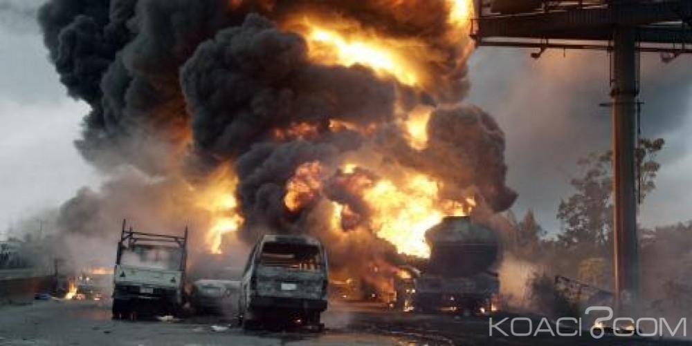Mozambique:  L'explosion d'un camion de carburant fait au moins 73 morts