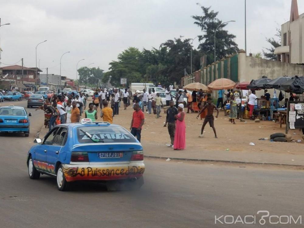 Côte d'Ivoire: Grève des gbakas à Yopougon