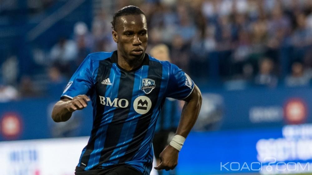 Côte d'Ivoire: Impact de Montréal, Drogba annonce son départ à la fin de la saison