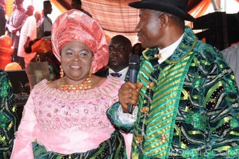 Nigeria: Affaires des comptes de Mme Goodluck gelés, renvoi du procès