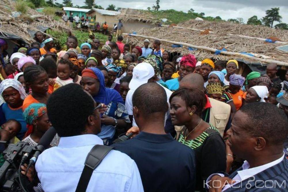 Côte d'Ivoire: Mont Peko, Mariatou Koné et Aichatou Mindahoudou aux côtés des ex-infiltrés installés à Michelkro