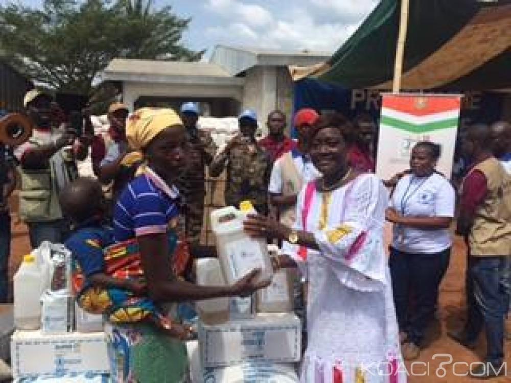 Côte d'Ivoire: 750 millions de vivres offerts aux ex-infiltrés du mont PEKO installés à Michelkro et à leurs «tuteurs»