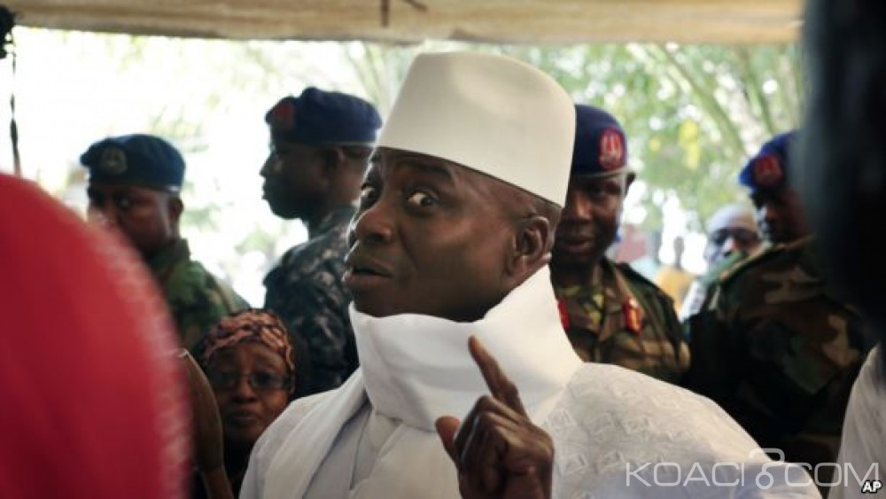 Gambie: Washington salue l'attitude «pacifique» de Yahya Jammeh