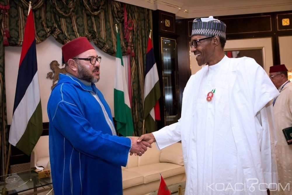 Koacinaute: Partenariat stratégique maroco-nigérian :  le Roi du Maroc et le Président du Nigeria signent un méga-projet de réalisation d'un gazoduc régional