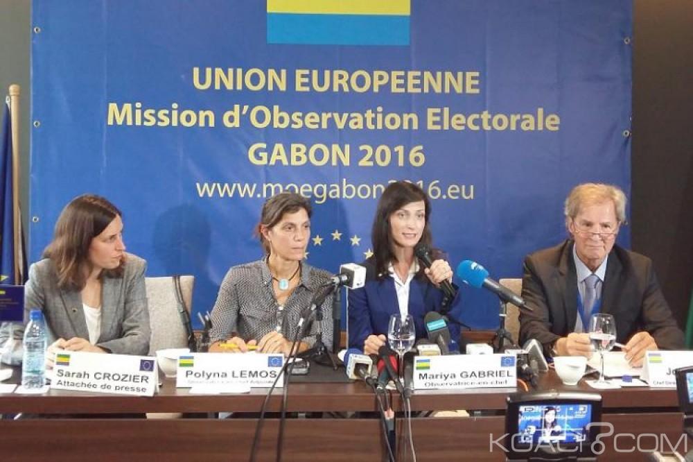 Gabon: Après deux reports et des suspicions d'ingérence, la mission d'observation de l'UE présentera son rapport final lundi à Libreville