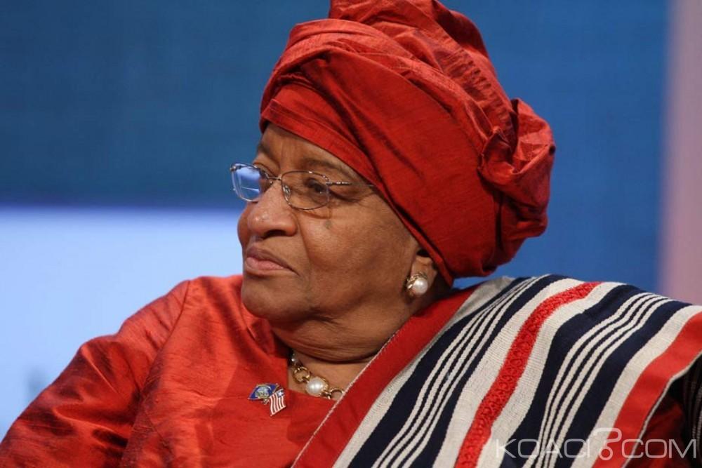 Liberia: Ellen Johnson Sirleaf, la «Dame de fer» appelle les femmes à se porter candidates aux élections