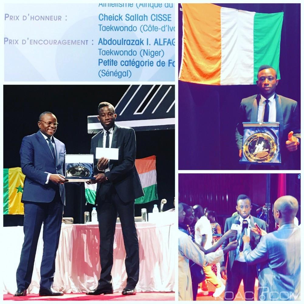 Côte d'Ivoire: Les prix s'enchaînent pour l'athlète ivoirien Cissé Cheick, le Président Abdou Diouf récompense le médaillé d'Or