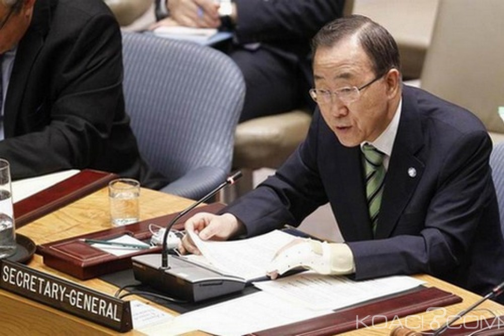 Guinée-Bissau: Crise politique persistante, Ban Ki-moon exhorte pour une solution durable