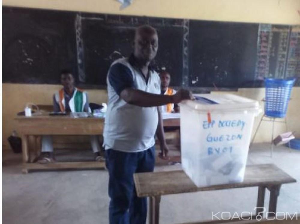Côte d'Ivoire: Législatives 2016, les partielles de Guiglo ont donné le candidat indépendant pour vainqueur face au RHDP
